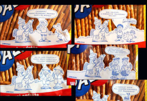 rysunek humorystyczny reklama