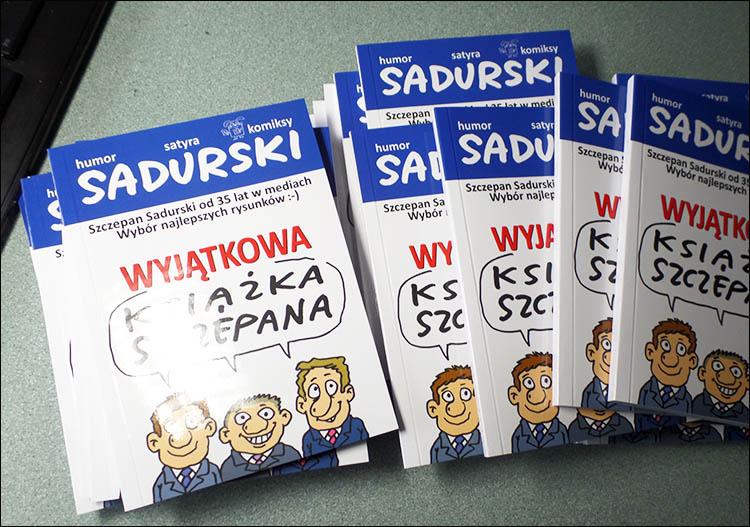 książka rysunki Szczepan Sadurski