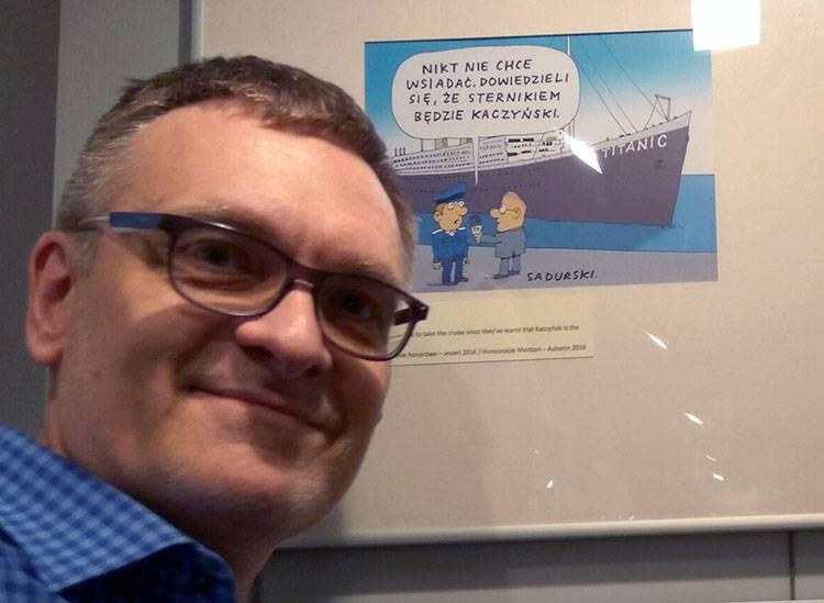 muzeum karykatury sadurski rysownik karykaturzysta dobra zmiana kaczyński pis