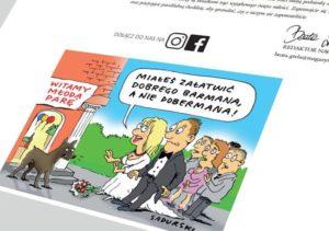 ilustracja prasowa rysunki satyryczne humorystyczne ilustracje prasa czasopisma rysownik