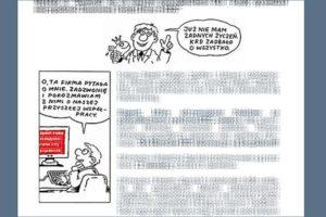 newsletter ilustracje humor