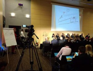 sketchnotes konferencje targi rysunki na żywo rysownik