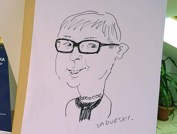 spotkanie autorskie wystawa rysunku satyrycznego
