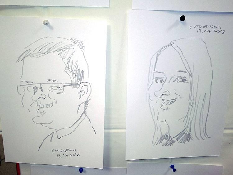 atrakcje na jubileusz firmy rocznica karykatury event karykaturzysta