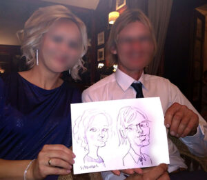 karykatury wesele karykaturzysta na wesele atrakcje weselne