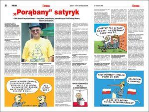 Szczepan Sadurski wywiad karykaturzysta rysownik prasowy