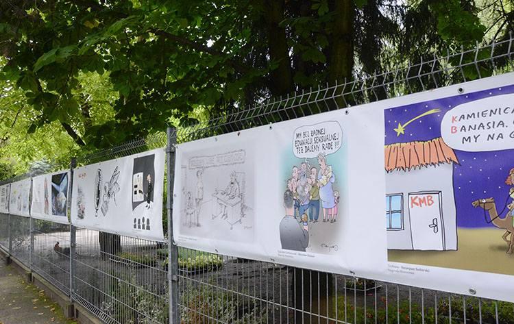 Sosnowiec rysunek prasowy konkurs wystawa Olsztyn