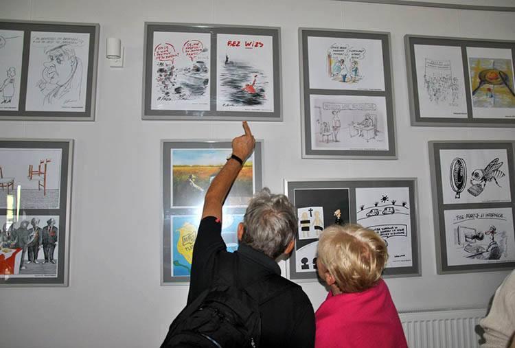 Świątki rysunek prasowy konkurs wystawa Olsztyn