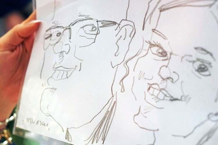 karykaturzysta Warszawa atrakcje na wesele event karykatury