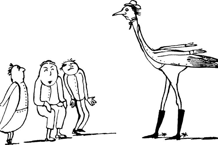 rysunek humorystyczny karykatura rysunki rysownik
