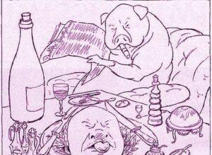 rysunek satyryczny humorystyczny karykatura rysunki